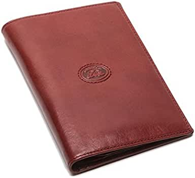 Amazon.com | Tony Perotti Italian Bull Leather Executive Bifold Passport Cover Case | Passport Wallets