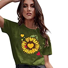 Womens Casual VNeck T-shirt Ladies Solid  Sleeve Buckle Blouse Tops                                     Please check the Size Chart before order. If you are not sure the size, please send message to us.            ...
