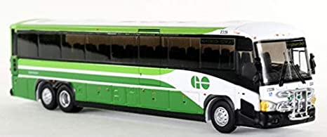 Amazon com: MCI D4505 GO Transit Canada Model Bus 1:87 Scale