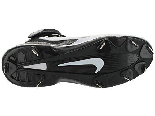 Nike Huarache Pro Mid Metal Honkbalkoorden Wit / Zwart