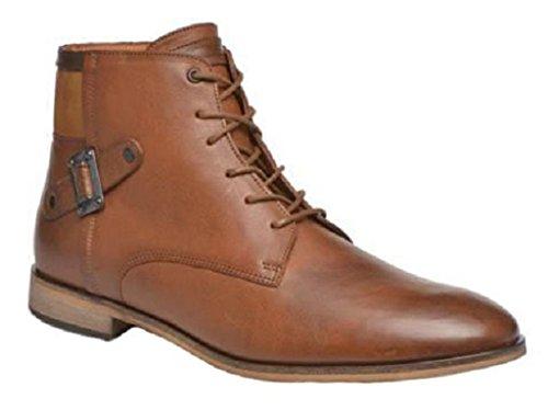 11sunshop Chaussures Bottines Model Gilles en Cuir par HGilliane Design EU 33 AU 46 sur Mesure Uniquement Brown