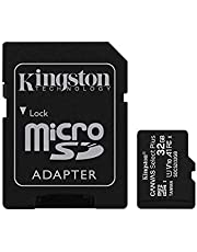 Kingston 32GB micSDHC Canvas Select Plus 100R A1 C10 Card+ADP (SDCS2/32GBCR)