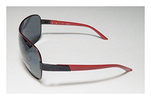 para Gafas Guf112 Hombre de Sol Guess Rojo w06xqBq