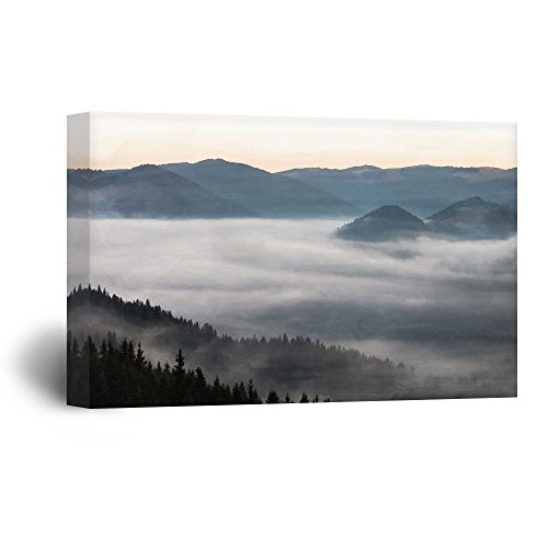Black Mountains and Fog Gallery