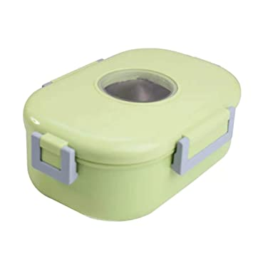Fiambrera Acero Inoxidable Multicapa Lunch Box Recipiente ...