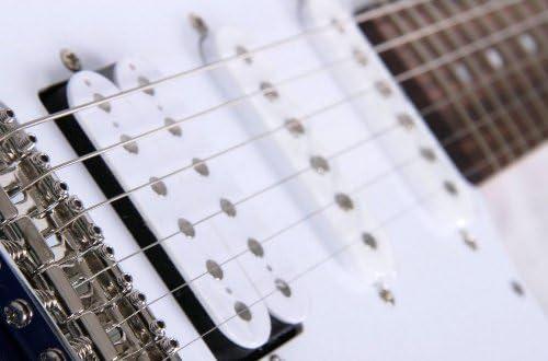 Yamaha Pacifica 012 Guitarra Eléctrica 4/4 de madera, 64.77 cm, escala 25.5 pulgadas, 6 cuerdas, selector pastillas de 5 posiciones, Color Blanco: Amazon.es: Instrumentos musicales
