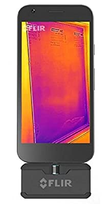 FLIR ONE PRO USB-C - THERMAL IMAGING PHONE ACCESSORY FOR ANDROID 160X120 USB-C CONNECTOR. Ruggedized thermal imaging camera!