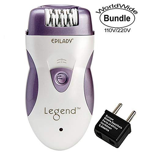 Epilady Legend 4th Generation Rechargeable Epilator With Dua