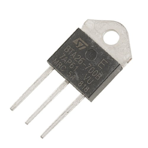 BTA26-700B 700V 25A 3 bornes broches standard Triacs Thyristor top3