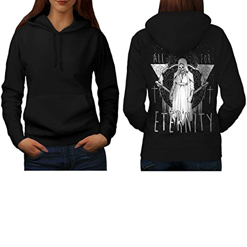 All For Eternity Fear Evil Queen Women S Hoodie Back | Wellcoda (Voodoo Queen Costume)