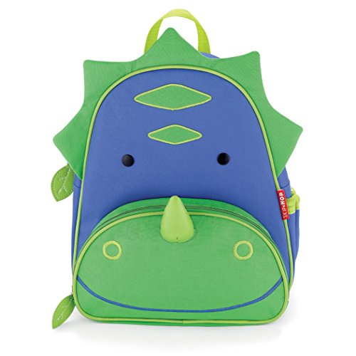 Price comparison product image Skip Hop Zoo Little Kid and Toddler Backpack, Dakota Dinosaur