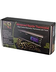 Eco Tech Advance Reptile Dual Control Electronic Thermostat with Timer ATC-300