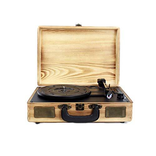 🥇 PRIXTON VC400 – Tocadiscos de Vinilo Vintage