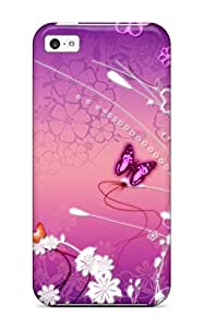 High-quality Durability Case For Iphone 5c(butterfly )
