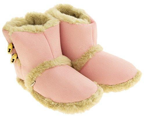 Dispositivi Rosa Stivali Di Ginocchiera Lt Faux Raffreddamento Pelliccia Pantofola Inverno Caldo Donna Foderata 7dT8nFw8q
