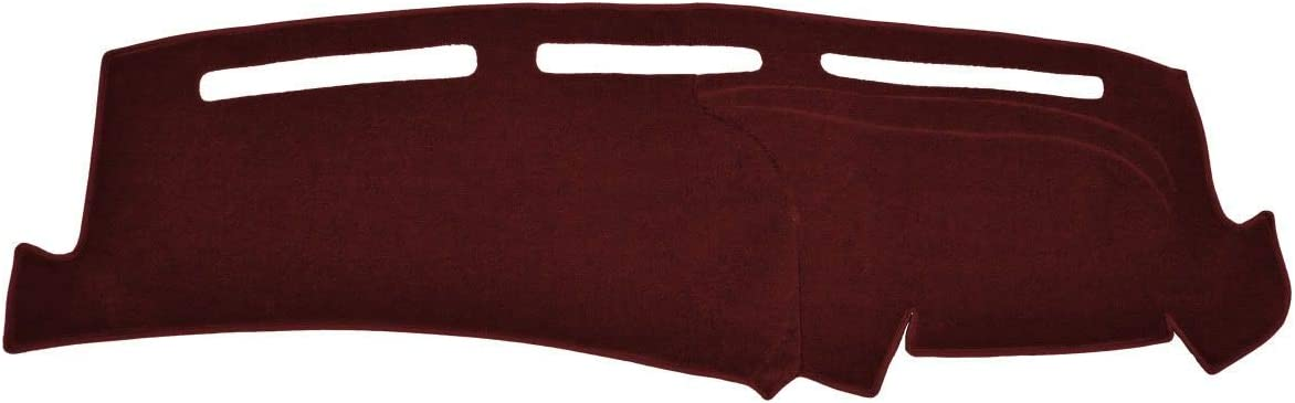 Carpet, Maroon Custom Dash Cover Mat Compatible with 1993-1994 Ford Pick-Up Ranger