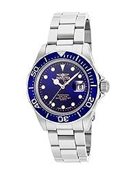 Invicta Men's 17056 Pro Diver Analog Display Swiss Quartz Silver Watch