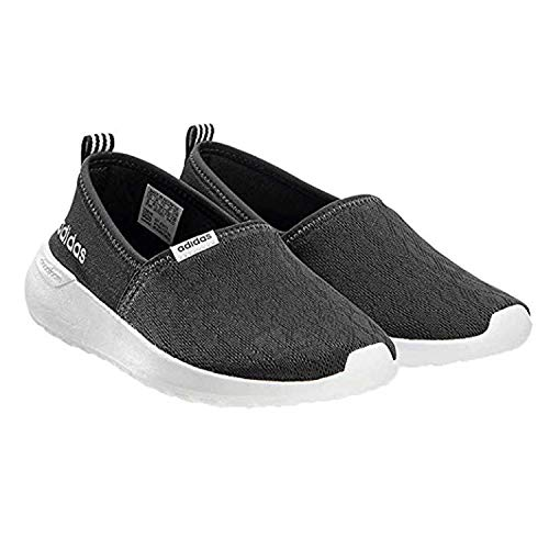 adidas Womens Cloudfoam Lite Racer Slip On (6-1/2, Black)
