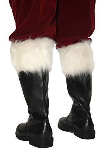 Wide Calf Professional Santa Boots BLKP M(10-11) - Santa Boots