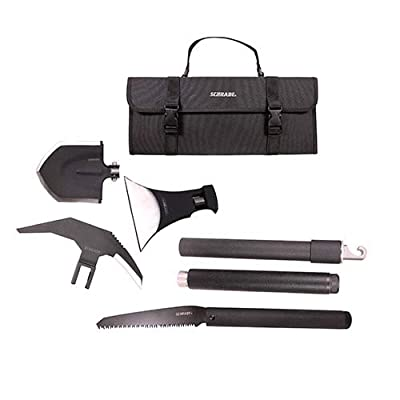 Schrade SCHEXC Outdoor Survival Kit with Expandable, Interchangeable Tool System for Emergency, Camping, Hiking and Outdoors by Battenfeld Technologies