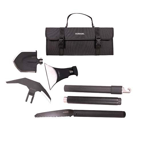 or Survival Kit with Expandable, Interchangeable Tool System for Emergency, Camping, Hiking and Outdoors ()