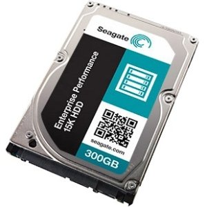 Seagate Enterprise Performance 15K HDD 300GB Internal Serial Attached SCSI 3 Hard Drive for Laptops Black/Silver ST300MP0005SP
