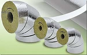 Arco de lana de roca para tubo aislante de aluminio 42 x 30