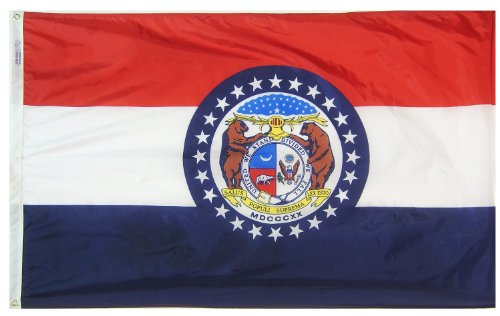 Annin Flagmakers Model 142960 Missouri State Flag 3x5 ft. Ny