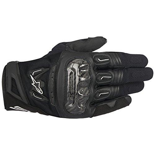 Alpinestars SMX-2 AC V2 Carbon Air Black XL Summer Glove (Alpinestars Gloves Xl)
