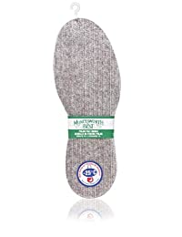 Moneysworth and Best Polar Men's Warmth Down to -25c Felt Insole