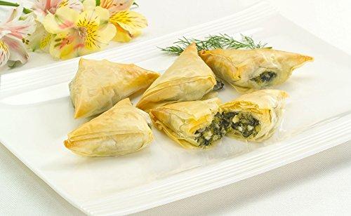 (Spanakopita - Vegetarian Gourmet Frozen Appetizers (48 Piece Tray))
