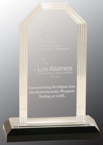 Santiago Engraved Acrylic Award 8