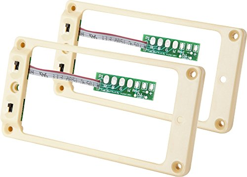 Mounting Ring Set (Seymour Duncan TS-1s Triple Shot Flat Pickup Mounting Ring Set Cream)