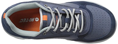Hi-Tec Herren V-Lite Walk-Lite Wallen Wanderschuh Navy / Cool Grey / Gebrannte Orange