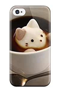 Quality James Escobar Case Cover With Cat Cute Food Kawaii Coffee Nice Appearance Compatible With Iphone 4/4s