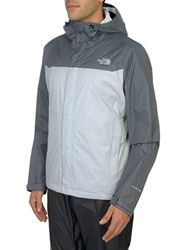 The North Face Venture Jacket - Men's High Rise Grey/Vanadis Grey (High Performance Mens Raincoat)
