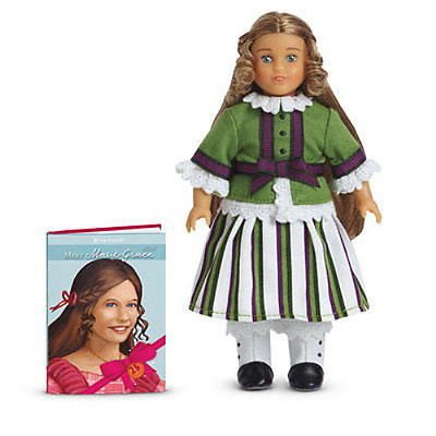 American Girl Special Edition 25th Anniversary Collectible Marie-Grace Mini Doll and Book Set