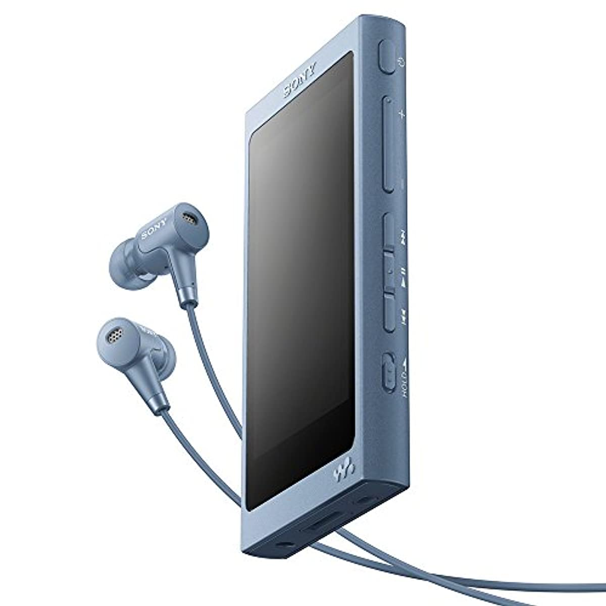 [해외] 소니 SONY 워크맨 A실리즈 16GB NW-A45HN : BLUETOOTH/MICROSD/하이레조대응 최대39시건 연속 재생 노이즈캔슬링이어폰부속 2017년 모델 문 re도부루 NW-A45HN L
