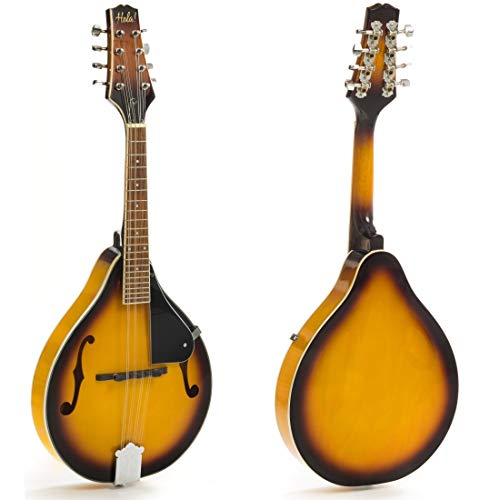 (Hola! Music A Style Mandolin Instrument with Adjustable Truss-Rod Model HM-3TS, Glossy Sunburst Finish)