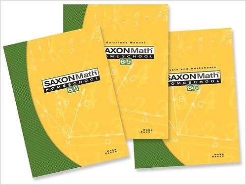 Saxon math 65 homeschool setbox saxon publishers saxon math 65 homeschool setbox 1st edition fandeluxe Choice Image