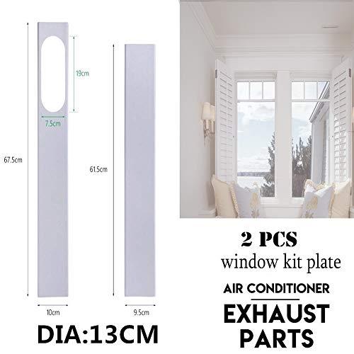 2Pcs window slide kit board/adjustable length 120 CM