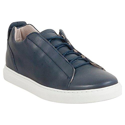 Miz Mooz Joanna Womens Lav-top Sneaker Navy
