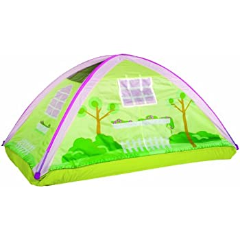 Pacific Play Tents Kids Cottage Bed Tent Playhouse - Twin Size