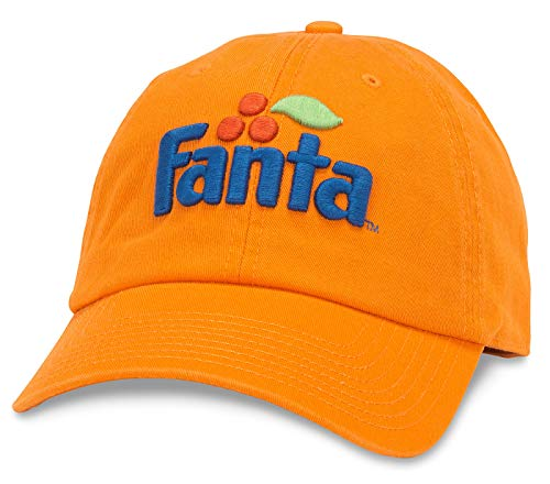 American Needle Fanta Ballpark Slouch Curved Brim Adjustable Hat Orange