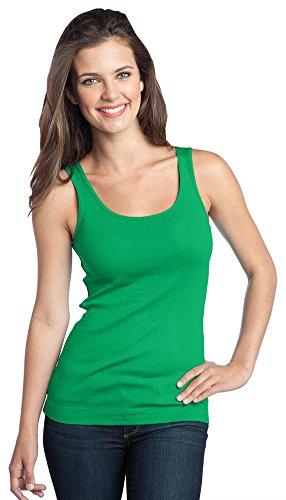 District DT235 Ladies' Juniors 1x1 Rib Tank Sleeveless Shirt PartNumber: 00000000000000003988000000000000000DT235P
