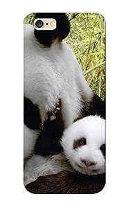 AEdfkK-2999-FPSnF Rightcorner Panda Bears Durable Iphone 6 Plus Tpu Flexible Soft Case With Design
