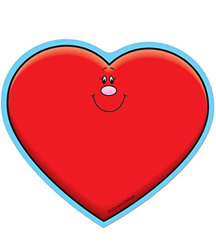Carson Dellosa - Hearts Mini Colorful Cut-Outs, Classroom Décor, 36 ()