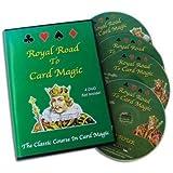 """""""The Royal Road to Card Magic"""" 4er DVD Set - Ein klassischer Kurs der Kartentricks und -Zauberei!"""