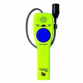 TPI 720b Combustible Gas Leak Detector with 16 Goose Neck, 10 ppm Sensitivity