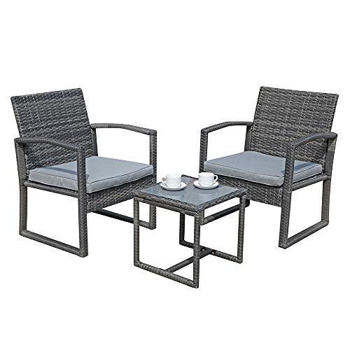 Patiorama 3 Pieces Outdoor Patio Furniture